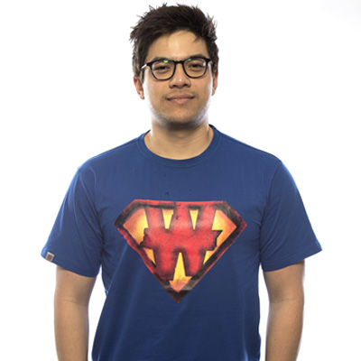 Nouveau Tee shirt bleu Superman