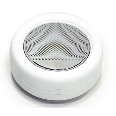 Mini enceinte blanche Bluetooth