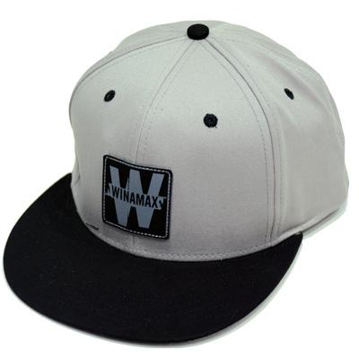 Nouvelle casquette hip hop grise et noire