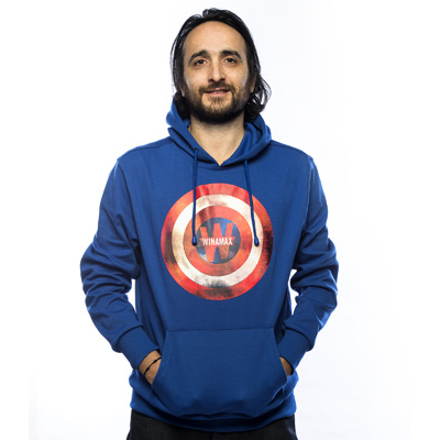 Nouveau Sweat bleu Captain America
