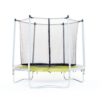 Trampoline Essential 240 Vert + Filet de protection DOMYOS