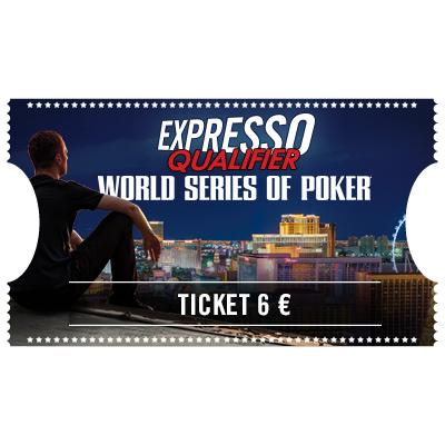 Ticket 6 € Expresso Qualifier Sismix