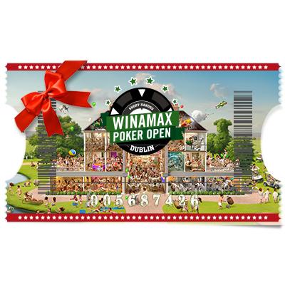 Buy in Winamax Poker Open Main Event