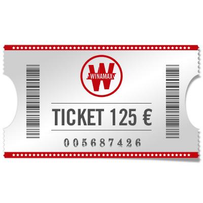 Ticket 125 € Main event