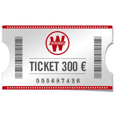 Ticket 300 €