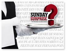 Sunday Surprise, de l'exceptionnel tous les dimanches! - Page 2 Restaurant