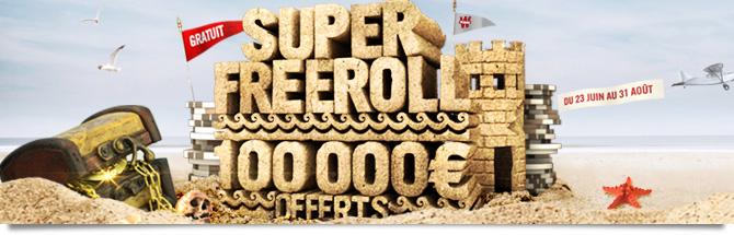 SUPER FREEROLL 100 000€ sur Winamax le 31/08 à 21h00  SuperFreeroll_bandeau_page
