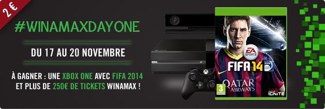 #WinamaxDayOne : gagnez une Xbox One ! Xbox_bandeau_670_226