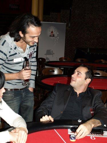 Jean-Claude van Damme et Eric Koskas